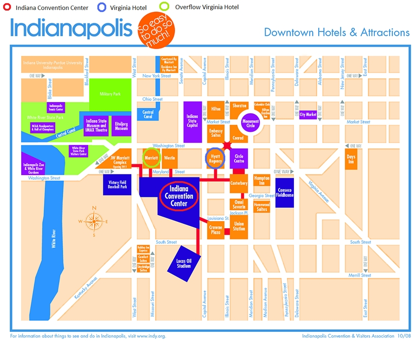 Hotels Near Indiana Convention Center